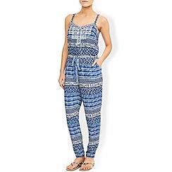 Monsoon - Blue Clarissa printed jumpsuit
