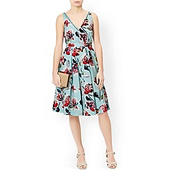 Monsoon - Blue Marie print dress