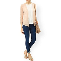Monsoon - Pink 'Evanna' edge to edge cardigan