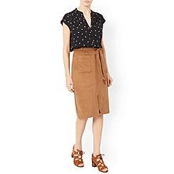 Monsoon - Black Peggy print blouse