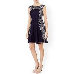 Monsoon - Blue Ottavia lace dress