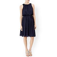 Monsoon - Blue Kya burnout dress
