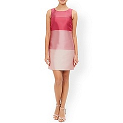 Monsoon - Pink Tilly stripe dress