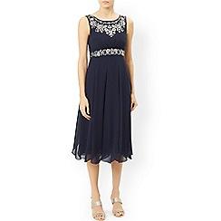 Monsoon - Blue 'Acacia' dress