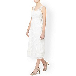 Monsoon - Ivory 'Zinna' dress