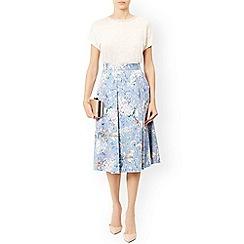 Monsoon - Multicoloured  'Hilary' jacquard skirt