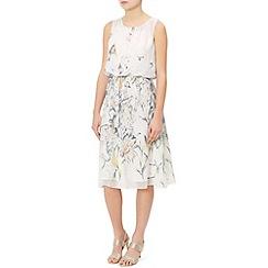 Monsoon - Ivory Mable dress