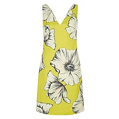 Monsoon - Yellow Bella olive dress