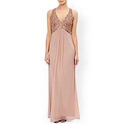 Monsoon - Pink Ayanna maxi dress