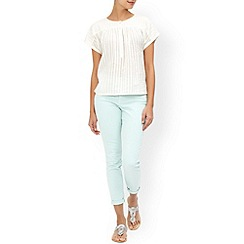 Monsoon - Ivory Ruthie cotton top