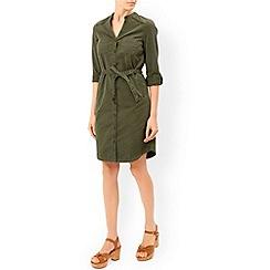 Monsoon - Green Cara chino dress