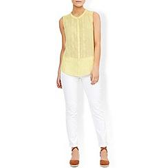 Monsoon - Yellow Abie arrow shirt