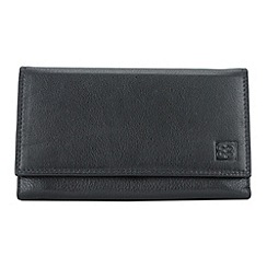 Enrico Benetti - Black cow nappa genuine leather purse