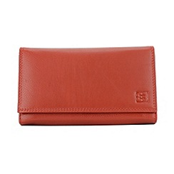 Enrico Benetti - Red cow nappa genuine leather purse