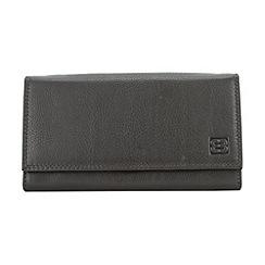 Enrico Benetti - Brown genuine leather purse