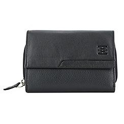 Enrico Benetti - Black cow nappa genuine leather purse