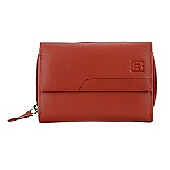 Enrico Benetti - Red genuine leather purse