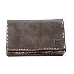Enrico Benetti - Brown genuine leather purse
