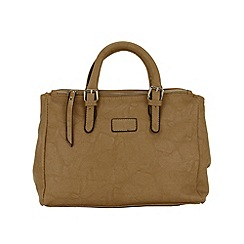 Enrico Benetti - Taupe faux leather work bag