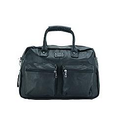 Enrico Benetti - Black faux leather work bag