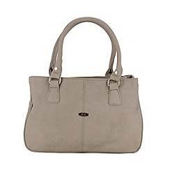Enrico Benetti - Light Grey two handle handbag