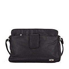 Enrico Benetti - Black zip top shoulderbag