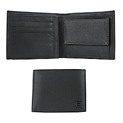 Enrico Benetti - Black cow nappa genuine leather wallet
