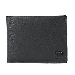 Enrico Benetti - Black cow nappa genuine leather wallet