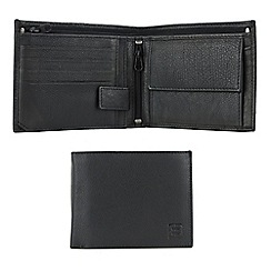 Enrico Benetti - Black cow nappa leather wallet