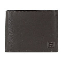 Enrico Benetti - Brown cow nappa genuine leather wallet