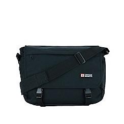 Enrico Benetti - Black polyester classic messenger bag