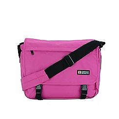 Enrico Benetti - Fuchsia polyester classic messenger bag
