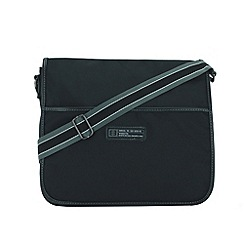 Enrico Benetti - Black nylon messenger bag