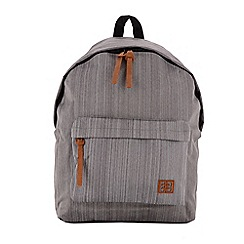 Enrico Benetti - Grey coloured polyester backpack