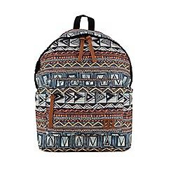 Enrico Benetti - Multi coloured polyester backpack
