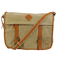 Enrico Benetti - Sand canvas courier bag