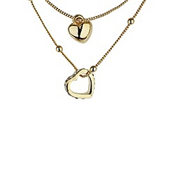 Mikey London - Gold heart small necklace