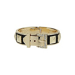 Mikey London - Black buckle cone bracelet