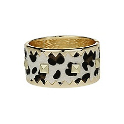 Mikey London - Animal m buckle cone bracelet