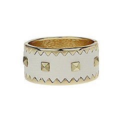 Mikey London - White m buckle cone bracelet