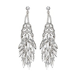 Mikey London - Eclipse stones long drop earring