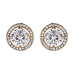 Mikey London - Centre stone marquise stud