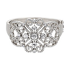 Mikey London - Abstract filigree design cuff