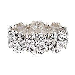 Mikey London - Baguette flower elastic bracelet
