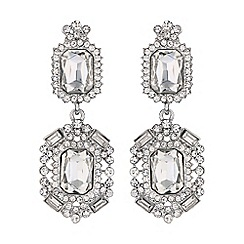 Mikey London - Diamond shape crystal clip on