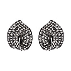 Mikey London - Curved twisted clip on earring