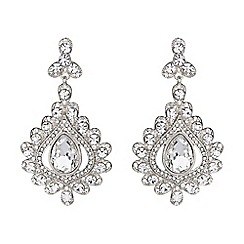 Mikey London - Large filigree spread drop earring