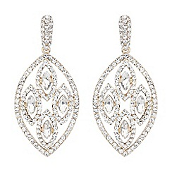 Mikey London - Gold filligree multi ovals drop earring