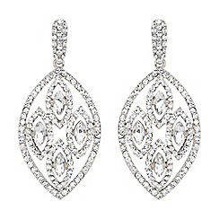 Mikey London - White filligree multi ovals drop earring