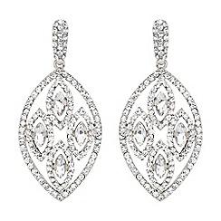 Mikey London - White filligree multi ovals drop earring